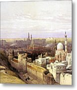 Cairo From The West Metal Print