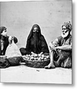 Cairo: Natives Metal Print