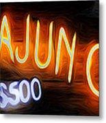 Cajun Casino - Bourbon Street Metal Print