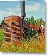 Calgary Tractor Metal Print