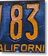 California 1937 Metal Print