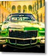 California 1970 Camaro Metal Print