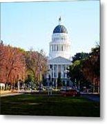 California Capitol Building-3 Metal Print