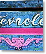 California Chevy Chic Metal Print