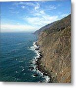 California Coast Metal Print by Joshua Benk