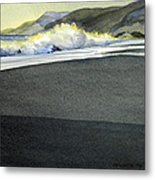 California Coast One Metal Print