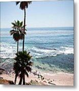 California Coastline Photo Metal Print