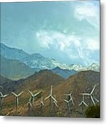 California Desert In Winter Metal Print
