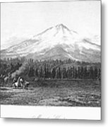 California: Mount Shasta Metal Print