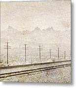 California Railroad Metal Print