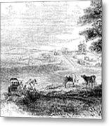 California: Vallejo, 1852 Metal Print
