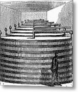 California: Winery, 1864 Metal Print
