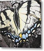 Callaway Tiger Swallowtail Butterfly Metal Print