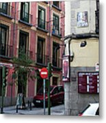 Calle De Vergara Madrid Metal Print