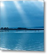 Calm Before The Storm Metal Print by Karen Grist