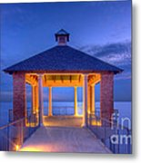 Calm Evening Metal Print by Pixel Perfect by Michael Moore