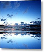Calm Reflection Metal Print