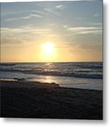 Calm Sunrise Metal Print