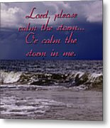 Calm The Storm  Metal Print