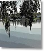 Calm Waters Before The Storm Metal Print
