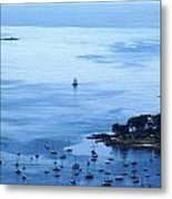 Camden Harbor Metal Print