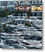 Camden Maine Waterfalls Metal Print