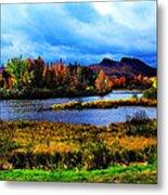 Camelback Mountain Maine Metal Print