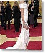 Cameron Diaz Wearing Valentino Couture Metal Print