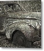 Camouflage Classic Car Metal Print