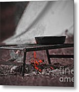 Camp Fire  Metal Print