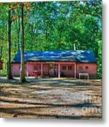 Camp Milton Metal Print