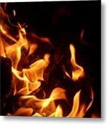 Campfire 4 Metal Print