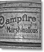 Campfire Marshmallows Metal Print