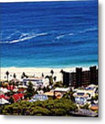 Camps Bay Beach Metal Print
