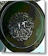 Can Of Butts Metal Print