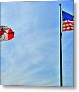 Can Usa Metal Print