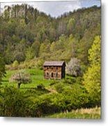 Canaan Valley West Virginia Cabin Metal Print