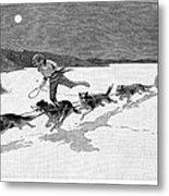 Canada: Fur Trade, 1892 Metal Print