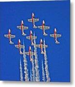 Canadian Air Force - Snowbirds Metal Print