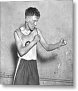 Canadian Boxer Metal Print by Topical Press Agency