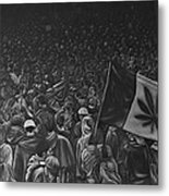Canadian Marijuana Demonstration Metal Print