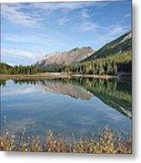 Canadian Rockies Rocky Mountain Lake Metal Print
