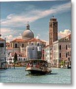 Canal Grande. Venezia Metal Print