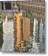 Canal Palette Metal Print