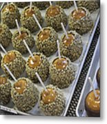Candy Apples Metal Print