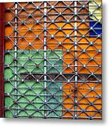 Candy Cage Metal Print