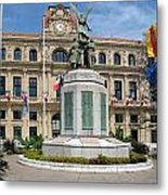 Cannes City Hall Metal Print