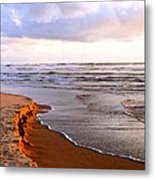 Cannon Beach Painting Metal Print