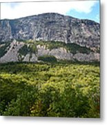 Cannon Cliff From Boise Rock New Hampshire Metal Print