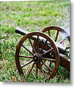Cannon Fire Metal Print